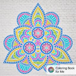 coloringbookforme mandala