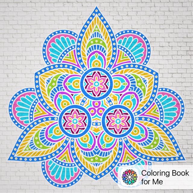 #coloringbookforme #Mandala