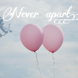 freetoedit balloon lovecupid neverapart