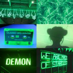 FreeToEdit Green tumblr aesthetic