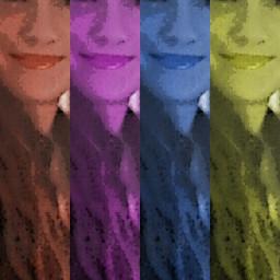 collage illusion freetoedit retro