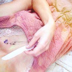 glitter feather fairytale
