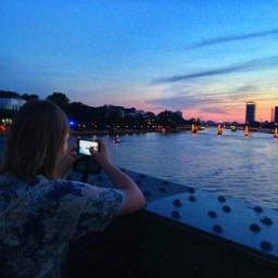 photography sunset frankfurt