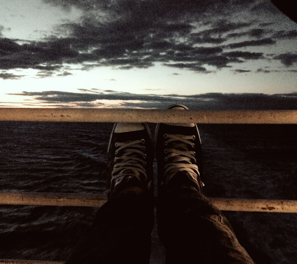 #interesting #travel #sea #sky #photography #shoes #allstar #clouds