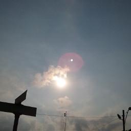 sunrise sun sign simple silhouette