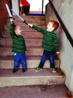 brothers kids cute love warrior