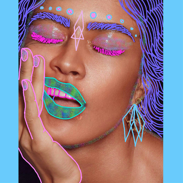 #luzpavon #lineart  #drawing #vaporart #doodle #sketch  #art #model #painting #lines #artist #toronto #vogue #typography #losangeles  #abstract #abstractart  #90s #vaporwave #aesthetic #trippy #psychedelic #neon #kawaii #trippyart #luzpavon #supermodel
