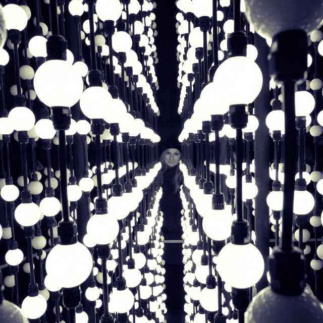 By my honey 😍 #lover #myself #lights #signalfestival #prague #bulb #light #art #instalation #honey #signal #prague #love