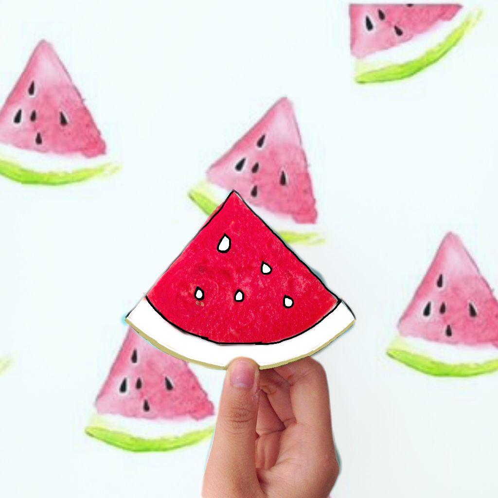 #FreeToEdit  watermelon 😍
