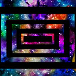 artbyamber freetoedit opart galaxy twilightzone