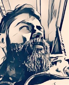 mybeard travel drawing itsme