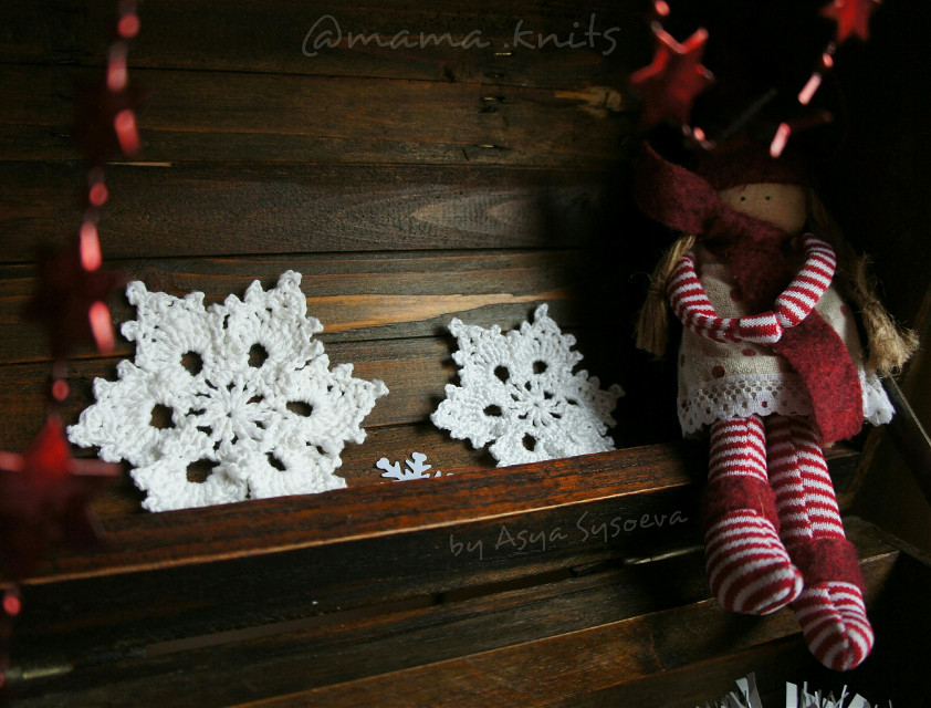 #emotions #cute #doll #dark #chest #cristmas #holiday #decoration #winter #snowflakes #snowflake