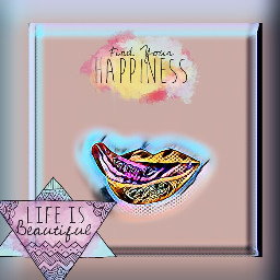 freetoedit lips happyness