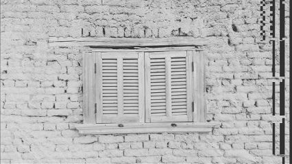 blackandwhite window winter freetoedit